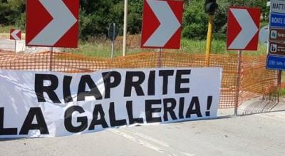 galleria-monte-saraceno-chiusura-lavori-cantiere-commento-gatta-Cronaca