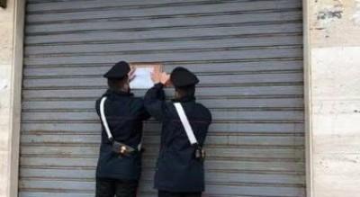 provincia-foggia-chiusura-bar-carabinieri-ordine-pubblico-Cronaca
