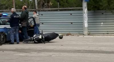 foggia-inseguimento-polizia-scooter-giovani-senza-casco-Cronaca