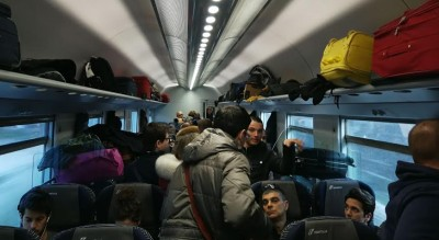 caos-treno-foggia-calcio-biglietti-doppi-carrozza-mancante-parma-piedi-Società
