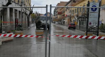 lavori-via-lanza-area-pedonale-chiude-strada-riqualificazione-isola-Cronaca