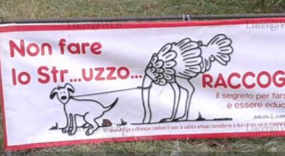 lucera-foggia-banner-condominio-deiezioni-cani-Società