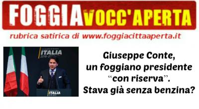 -satira-giuseppe-conte-foggiano-presidente-premier-Satira