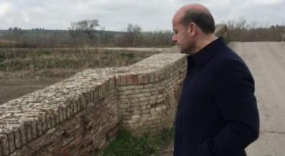 ascoli-satriano-pericolo-crollo-ponte-romano-sindaco-contro-provincia-Cronaca