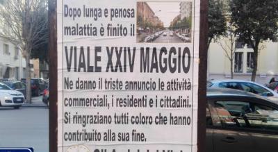 viale-xxiv-maggio-foggia-manifesti-funebri-amici-viale-stazione-Cronaca