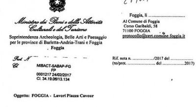 piazza-cavour-lavori-soprintendenza-diffida-autorizzazione-Cronaca