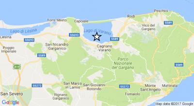 terremoto-foggia-magnitudo-4-epicentro-lago-varano-Cronaca