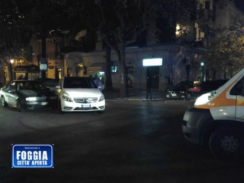 Incidente a corso roma in pieno centro di foggia due for Corso di arredatore d interni roma