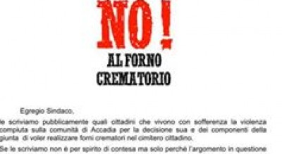 accadia-no-forno-crematorio-protesta-cittadini-lettera-contro-sindaco-Cronaca