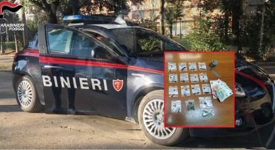 foggia-carabinieri-arrestano-giovane-pusher-piazzale-libanese-Cronaca