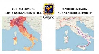 mappe-ingannevoli-covid-free-chiarimento-parco-nazionale-gargano-Società
