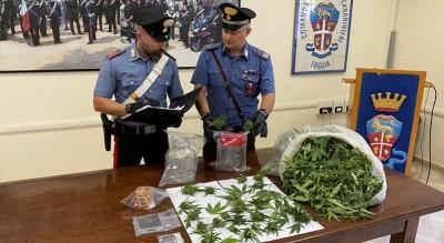 carabinieri foggia arresto marijuana