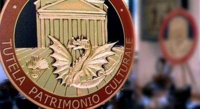 carabinieri arte