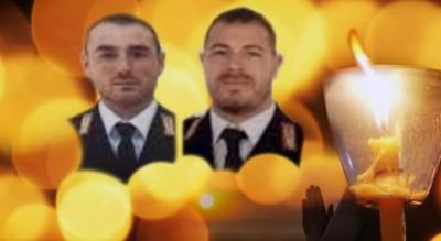 foggia-fiaccolata-matteo-pierluigi-poliziotti-uccisi-questura-trieste-Società