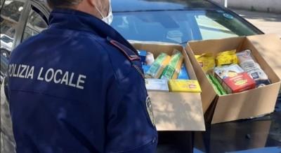 polizia-locale-foggia-iniziativa-donazione-farmaci-denaro-cibo-Cronaca
